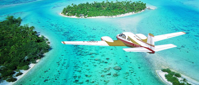 flight bora bora