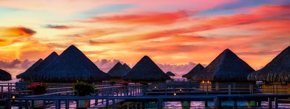 Romantisk semester på Bora Bora